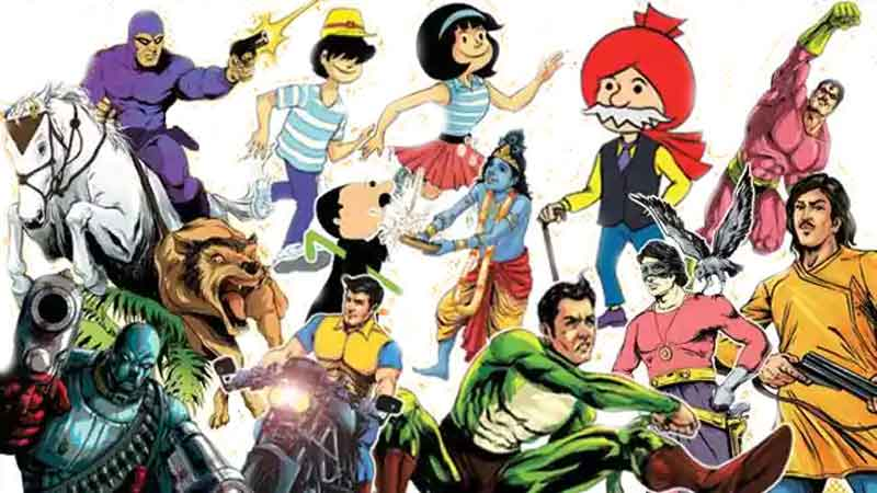 Popular Indian Comic Characters