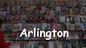 Comic Store in Arlington