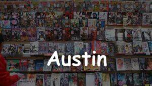 Comic Book Store in Austin, Texas